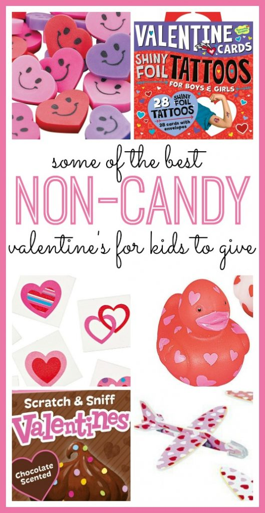 Non-candy Valentine's For Kids To Give