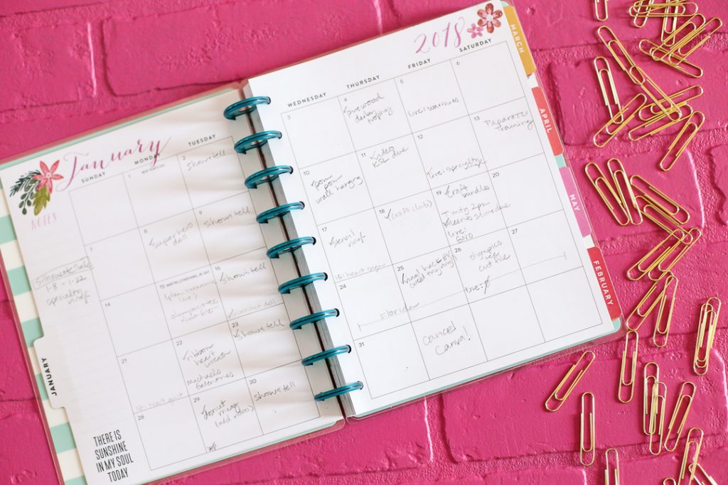 how to use the happy planner-4