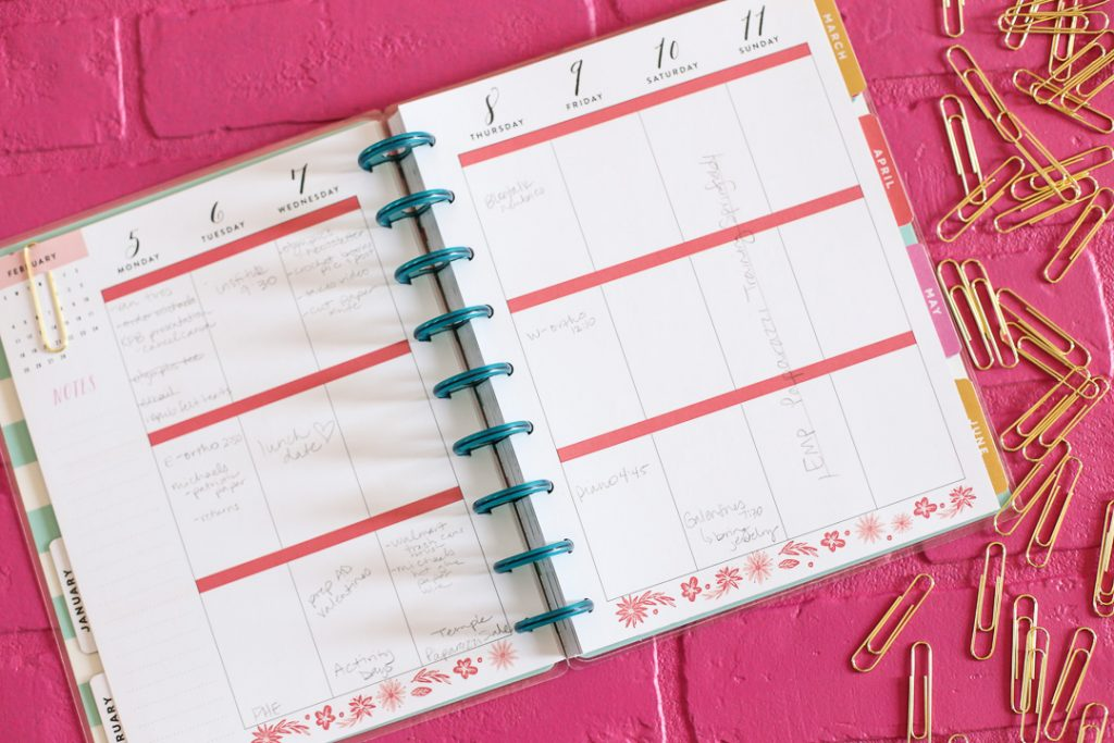 how to use the happy planner-5