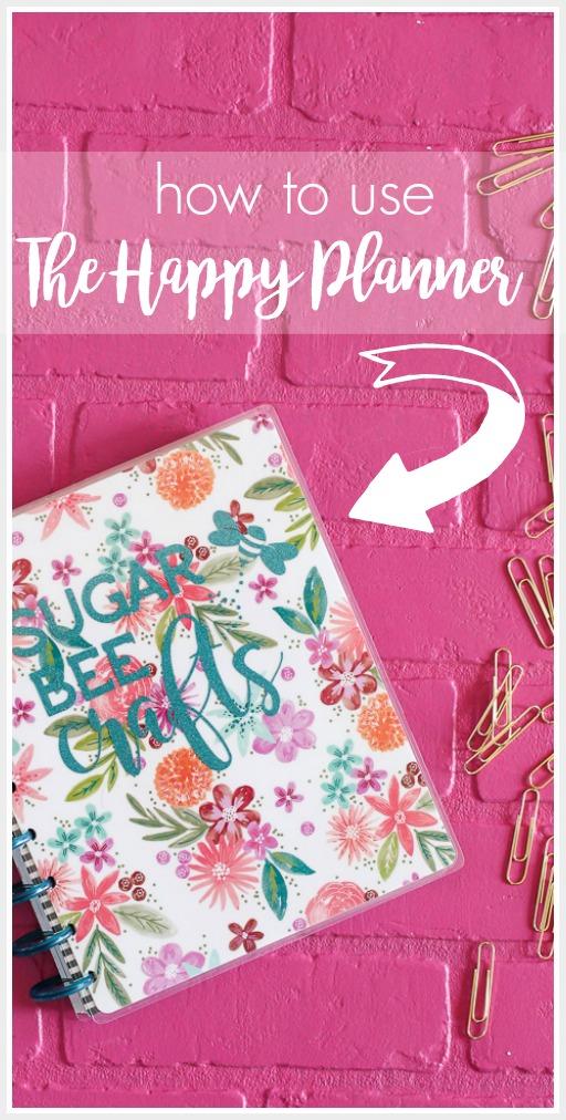 the happy planner tutorial