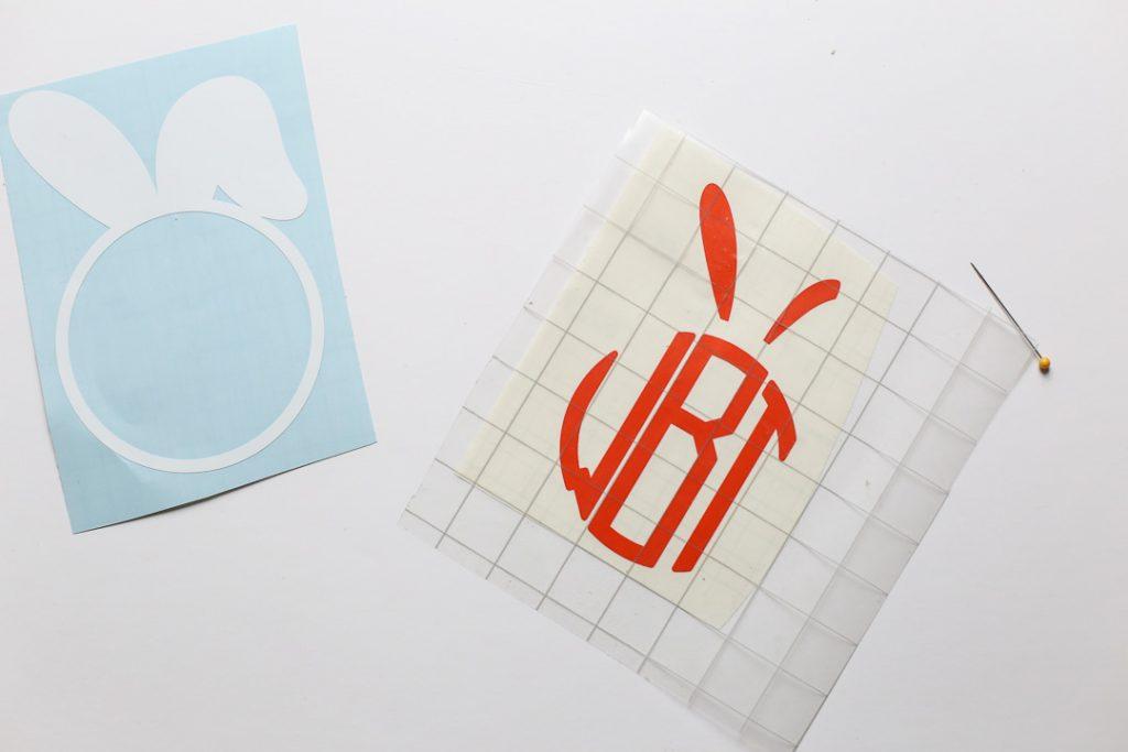 monogram easter basket decal-6