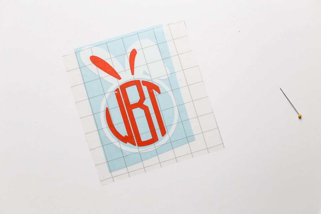monogram easter basket decal-8