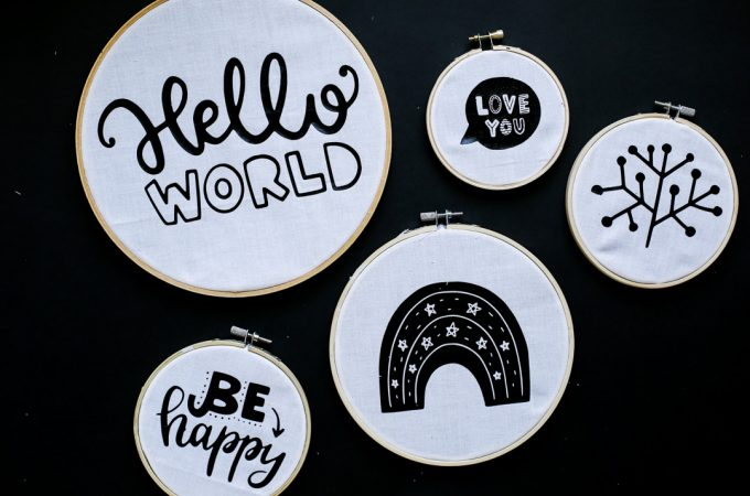 HTV Vinyl Embroidery Hoop Project-1
