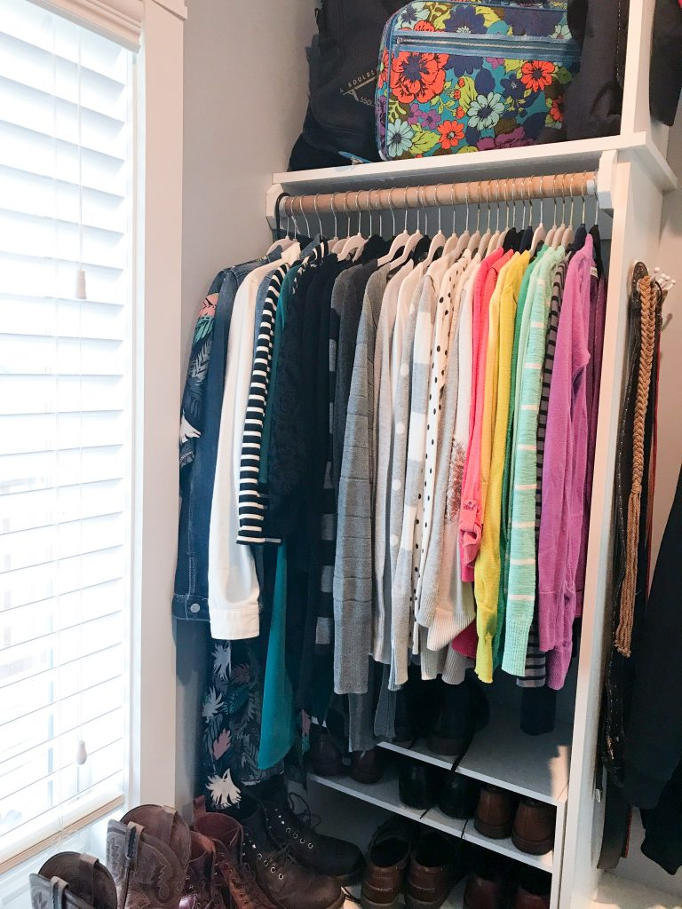 Closet declutter brings happiness 18