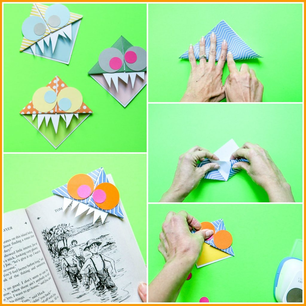 Kids craft bookmark idea summer
