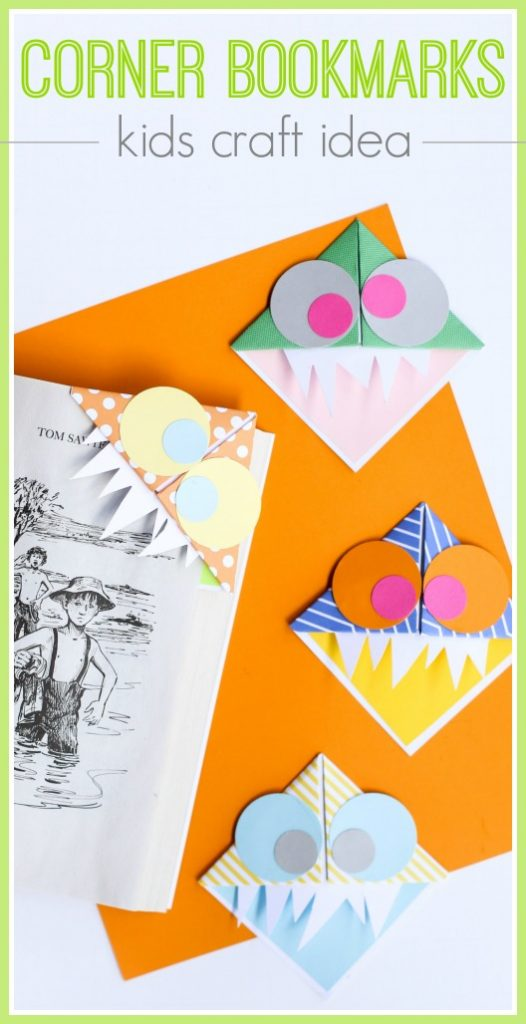 Kids craft idea bookmark