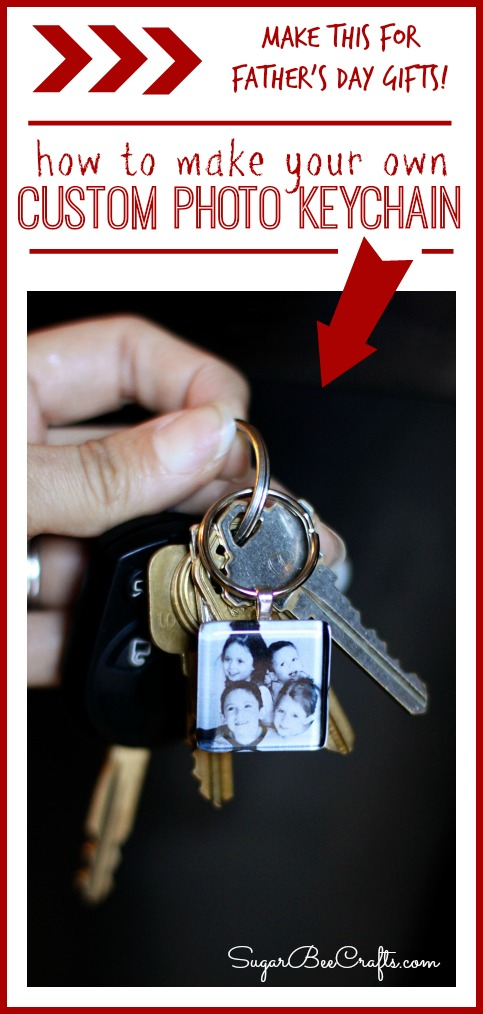 How to Make a Custom Homemade Picture / Photo Keychains