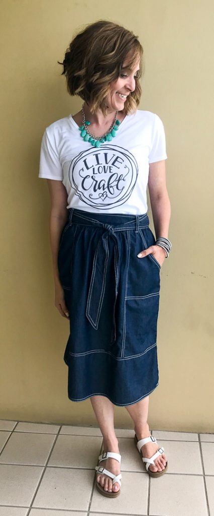 Diy craft tee cut file tshirt 1