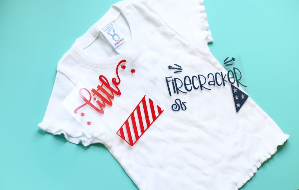 Diy craft tee patriotic red white blue 2