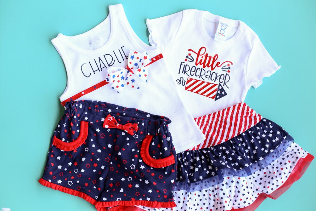 Diy craft tee patriotic red white blue 3
