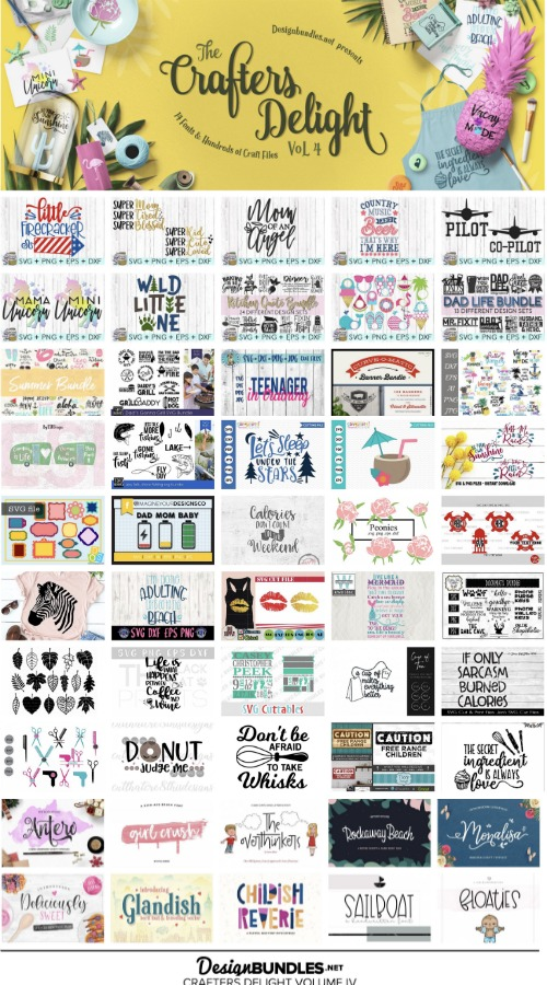 Svg craft bundle cut files for silhouette