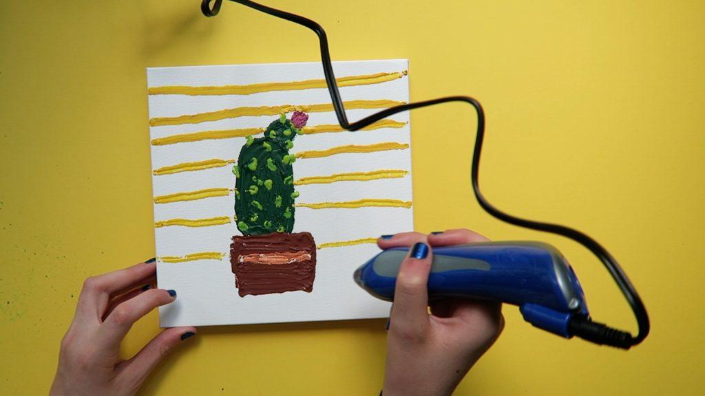 Crayon melter 3