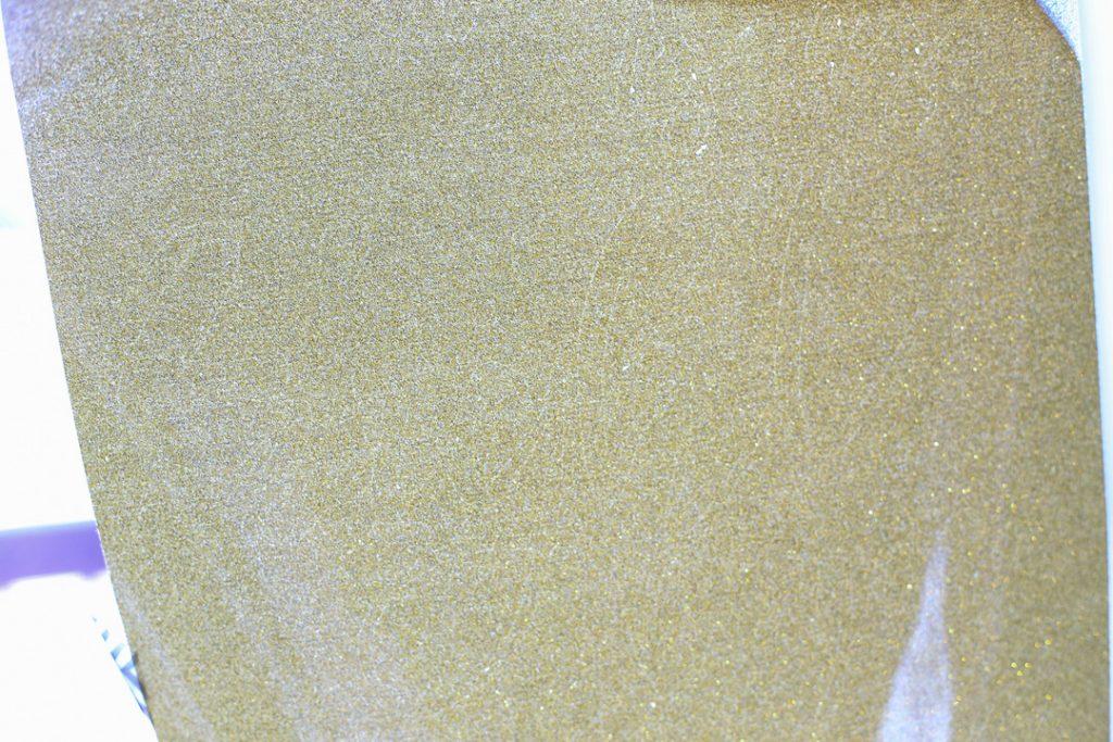 Glitter htv on canvas 3