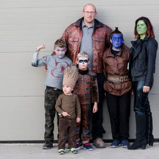 Guardians of the Galaxy Group Family Costume