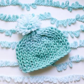 Finger Looping Hat Instructions