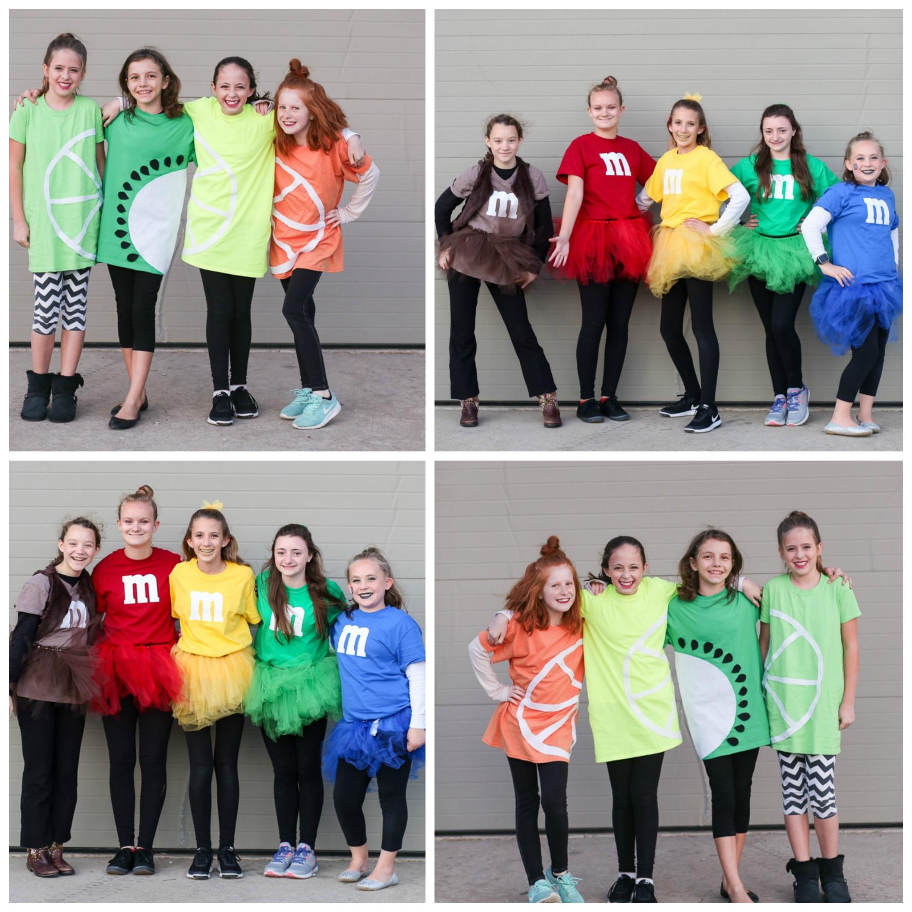 Teen Group Costume Idea - Sugar Bee Crafts