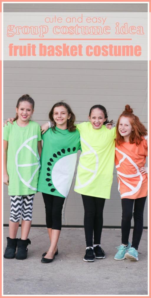 Group costume idea fruit basket teen costume idea