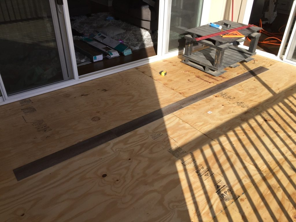 exterior vinyl floor decking for a screened in porch laying vinyl wood tile boards