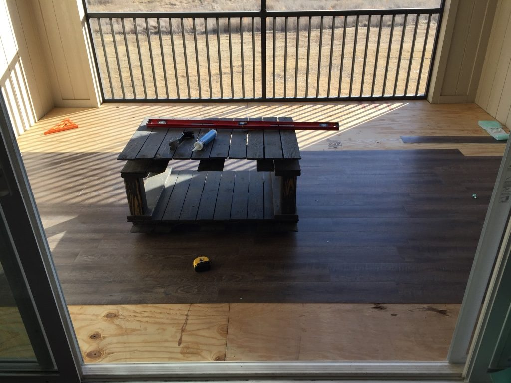 exterior vinyl floor decking for a screened in porch 2