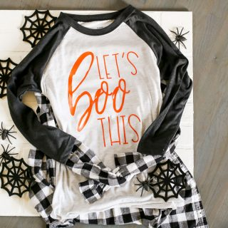 Diy halloween tee svg cut file 9