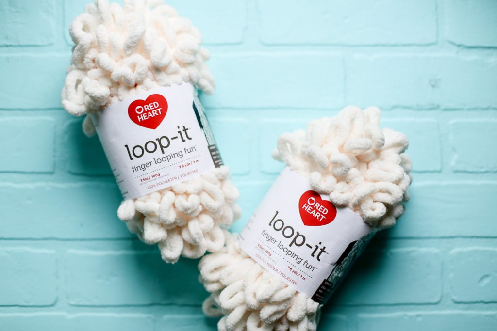 Loop it yarn project instructions idea 1