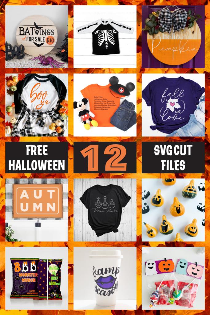 12 free halloween svg cut files