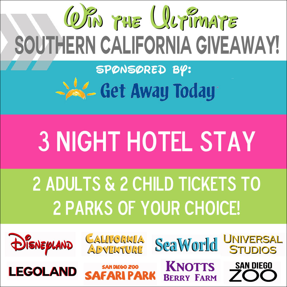 Southern california giveaway button