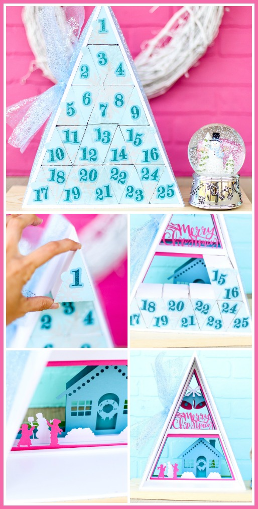Advent calendar craft diy idea
