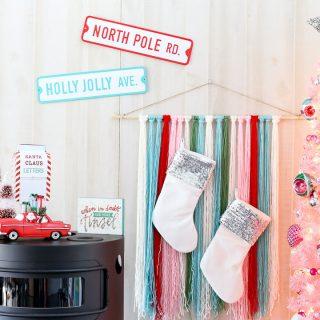 Pink Vintage Christmas Tree – Dream Tree Challenge