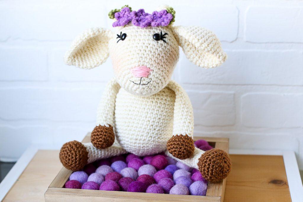 Amigurumi crochet goat pattern 10