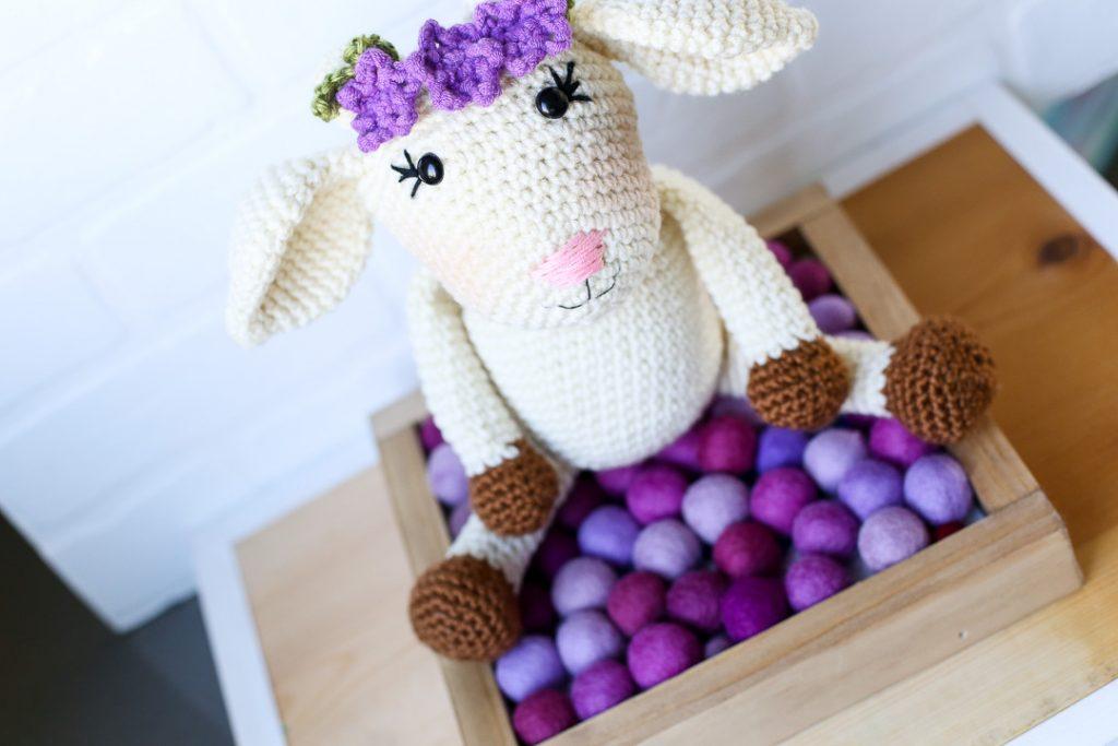 Amigurumi crochet goat pattern 6