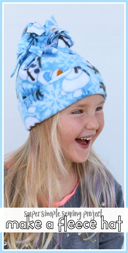 How to make a fleece hat