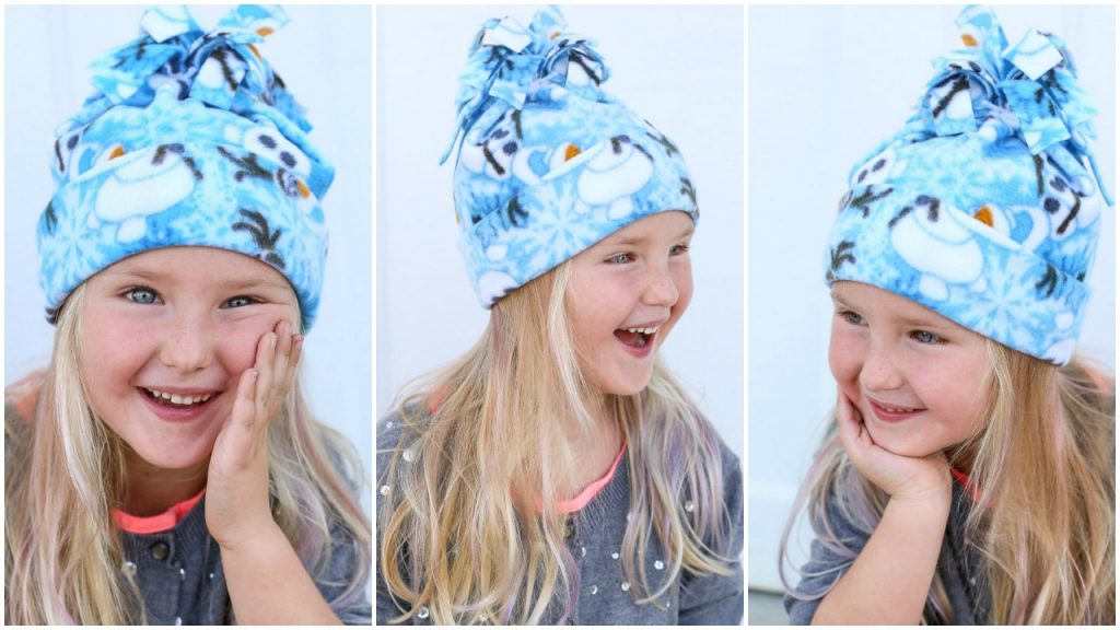 Simple fleece hat instructions