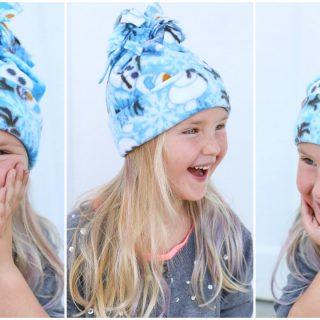 Super Simple Fleece Hat