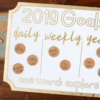 How to make a Goals Board