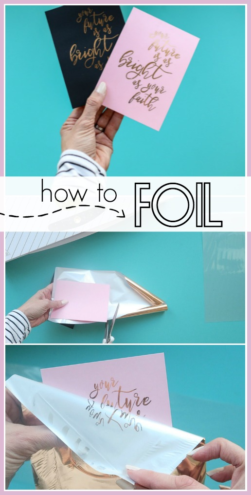 How to foil