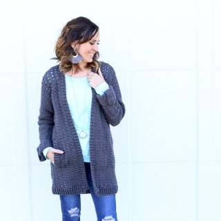 DIY Crochet Cardigan