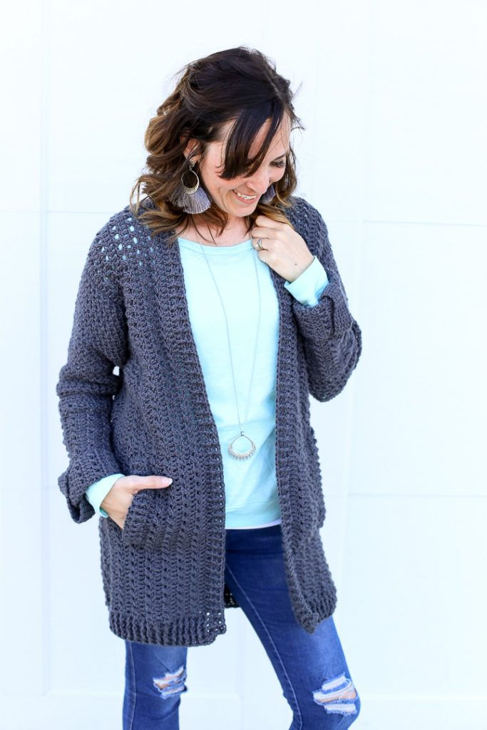 Diy crochet cardigan 7