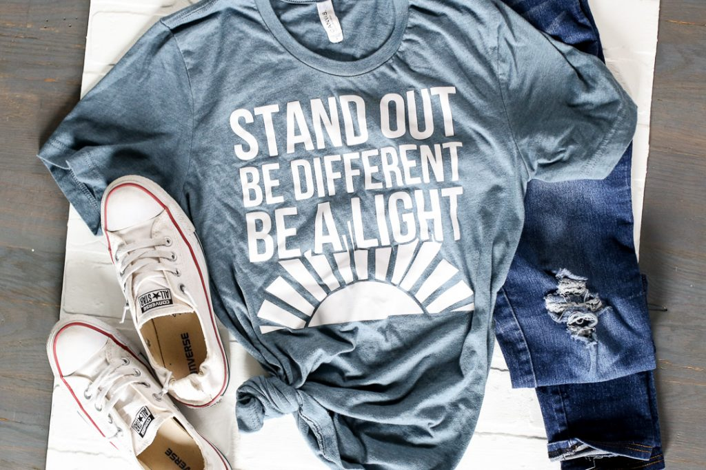 Stand out Be Different Be A Light