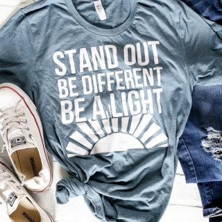 Stand out be different youth conference tshirt 4