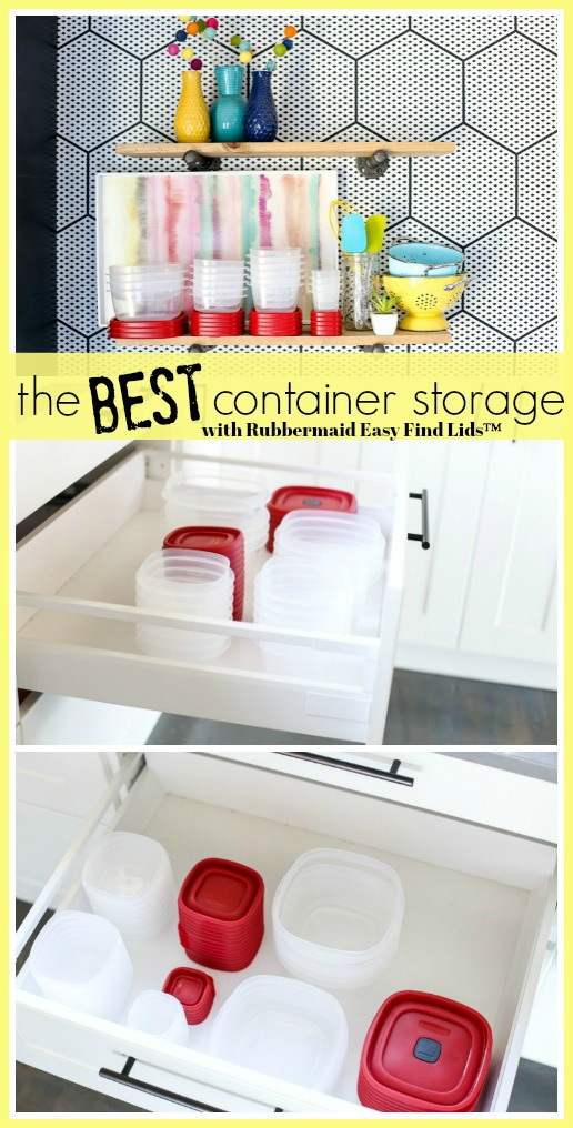 Container storage ideas and solutions rubbermaid