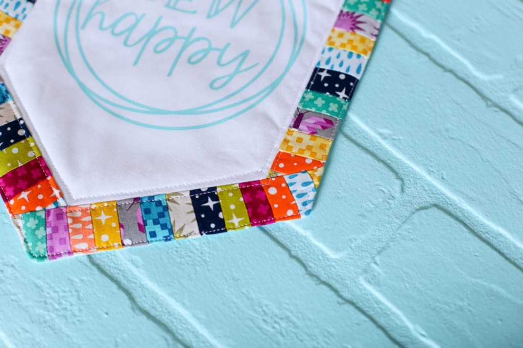 Sew happy banner decal tshirt 13