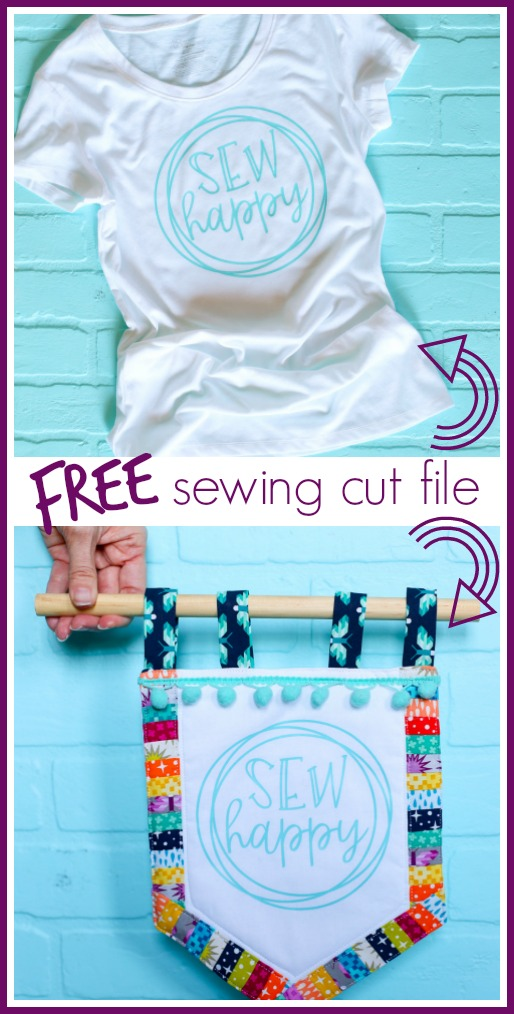 Sewing tee tshirt svg cut file