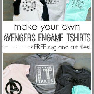 Avengers Symbols Tshirt