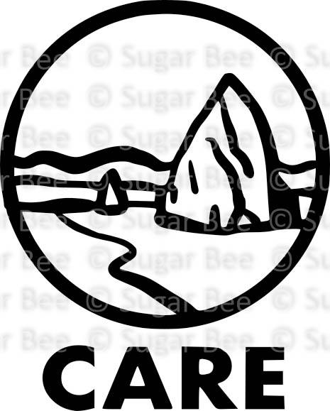 Capitol Reef National Park circle logo png watermark