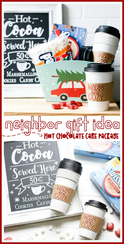 Easy neighbor gift idea