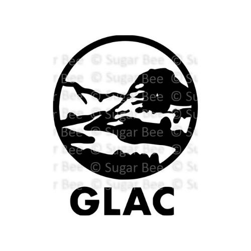 Glacier National Park Cut File