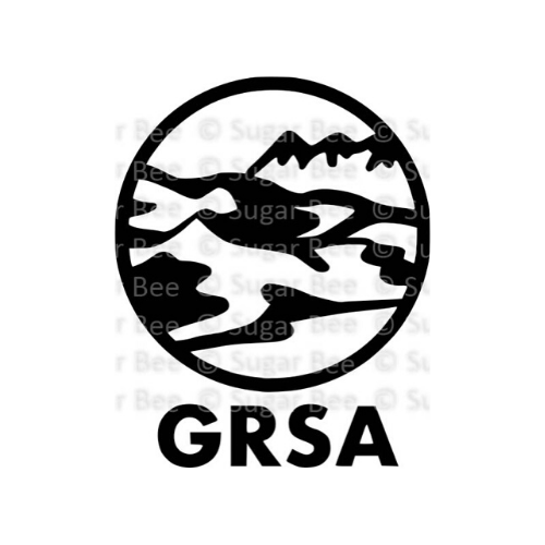Great sand dunes national park circle logo watermark 1