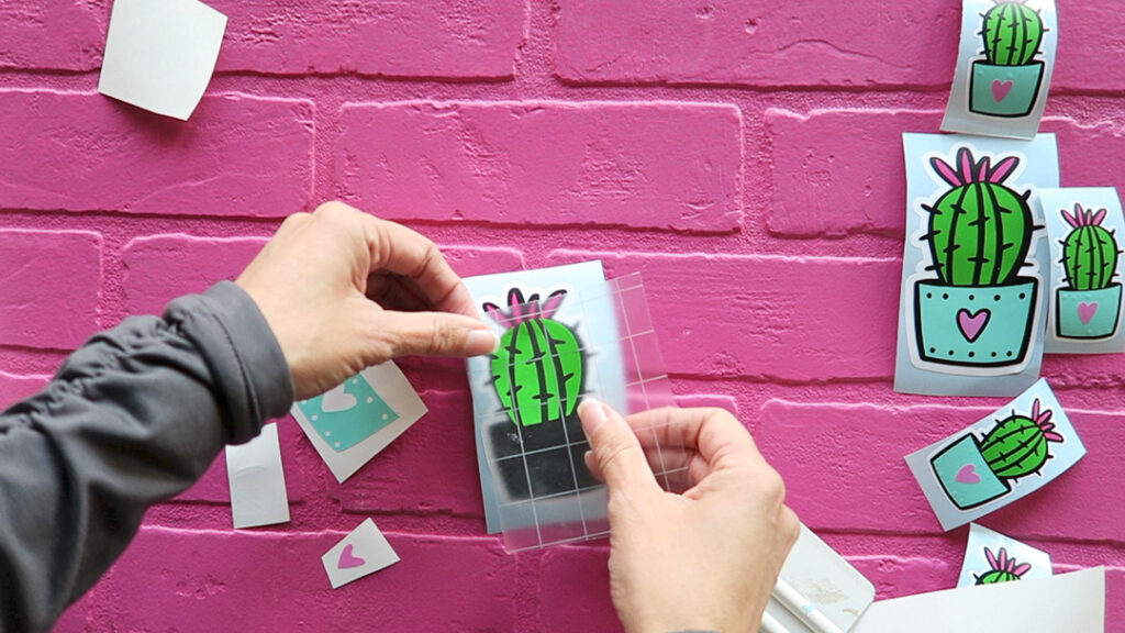 How to make layered vinyl stickers 11