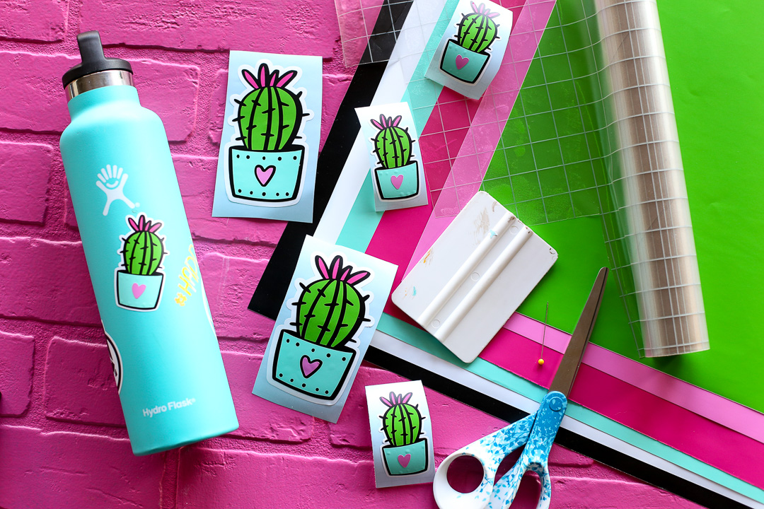 How To Make Vinyl Stickers Sugar Bee Crafts